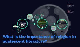 What is the importance of religion in adolescent literature?