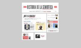 HISTORIA DE LA SEMIOTICA