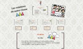 Copy of Les ministres de la classe de Mme Émilie
