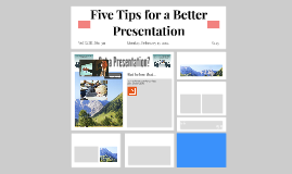 5 Presentation Tips for a Better Prezi