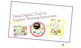 Using digital tools to teach writing