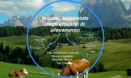 Impatto ambientale degli effluenti di allevamento