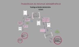 Copy of Presentación de informes administrativos