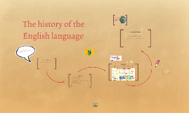 Copy of The history of the English language