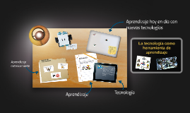 La tecnologia como herramienta de aprendizaje