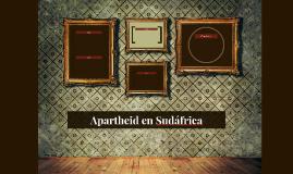 Apartheid en Sudáfrica