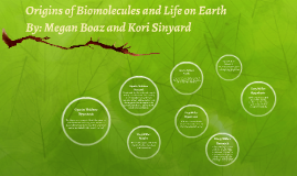 Origins of Biomolecules and Life on Earth