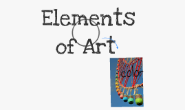 Elements & Principles of Art & Design
