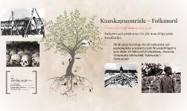 Copy of Tema - Folkmord