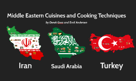 Middle Eastern Cuisines and Cooking Techniques