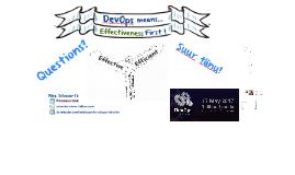 Tallinn: DevOps = Effectiveness First !