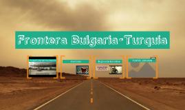 Frontera Bulgaria-Turquia