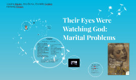 Their Eyes Were Watching God-Marital Problems