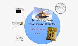 Dulwich College Bloodhound Society - Rocket Engine Thrust Test
