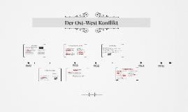 Ost-West Konlfikt