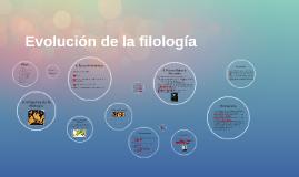 Evolución de la filología