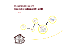 BCU Incoming Student Room Selection 2014-2015