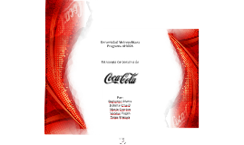 Copy of Copy of Estrategia Corporativa: Coca-Cola