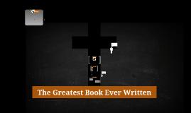 6th Grade Lesson 1 - The Greatest Book Ever Written