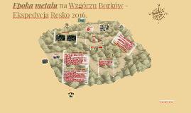Epoka metalu na Wzgórzu Borków - Ekspedycja Resko 2016.