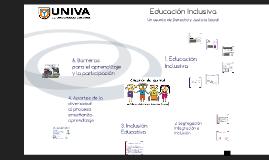Educación Inclusiva. Un asunto de Derecho y Justicia Social