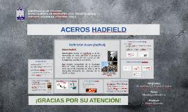 Copy of ACEROS HADFIELD