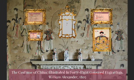 The Costume of China; Illustrated in Forty-Eight Coloured En