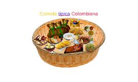 Comida tipica Colombiana