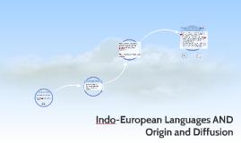 AP Indo-European Languages AND Origin and Diffusion