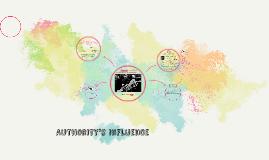 Authoroty's Influence