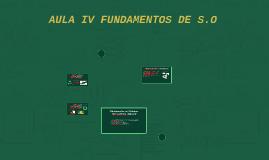 Fundamentos de Sistemas Operacionais