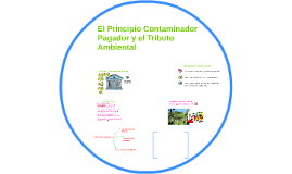 El Principio Contaminador Pagador y los Tributos Ambientales
