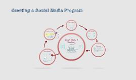 Creating a Social Media Program