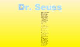 Copy of Dr. Seuss