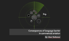 Consequences of language barrier in commercial aviation