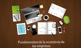 Fundamentos de la economia de las empresas