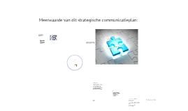 Presentatie strategisch communicatieplan Sportvisserij Zuidwest Nederland