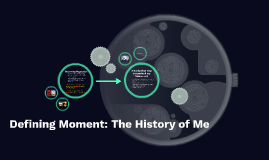 Defining Moment: The History of Me