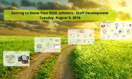 Copy of Copy of ESOL presentation