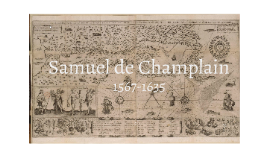 Copy of Samuel de Champlain