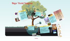 Major World Religions/Philosophies