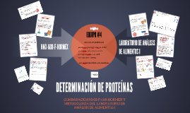DETERMINACIÒN DE PROTEÌNAS