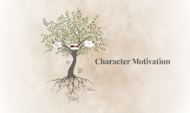 Copy of Character Motivation