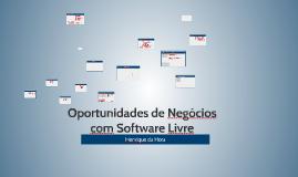 Ganhando dinheiro com Software Livre