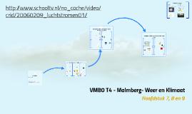 VMBO T4 - Malmberg- Weer en Klimaat