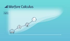 Warfare Calculus