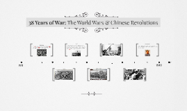 35 Years of War: The World Wars & Chinese Revolutions