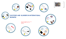 Successes and blunders in International Marketing