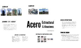 Acero Estructural y Aleaciones