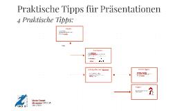 Praktische Tipps für Präsentationen